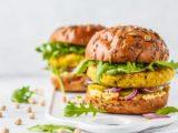 Rezept fuer koestlichen veganen Burger